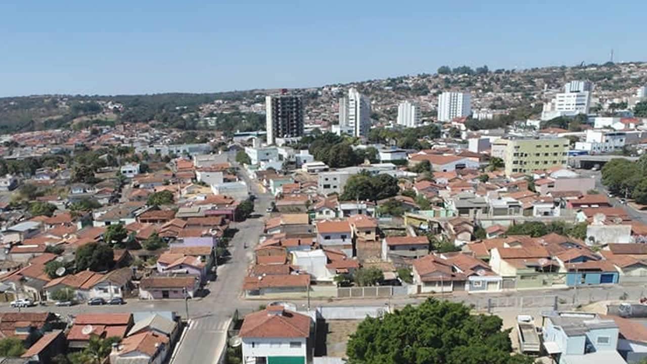 Foto aérea do Centro de João Pinheiro