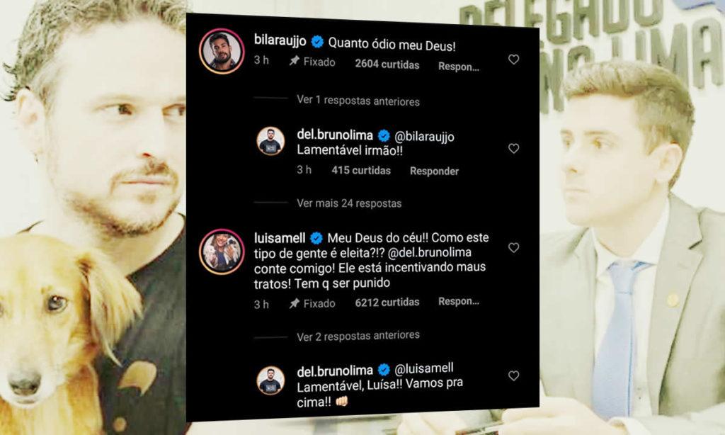 Comentário de Arcrebiano ex-bbb e digital influencer Luísa Mel