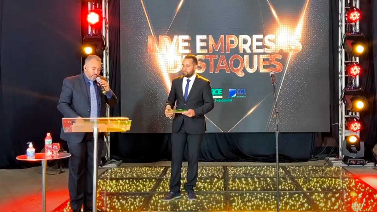 Live da ACE onde foi relevado quais as empresas destaque de João Pinheiro
