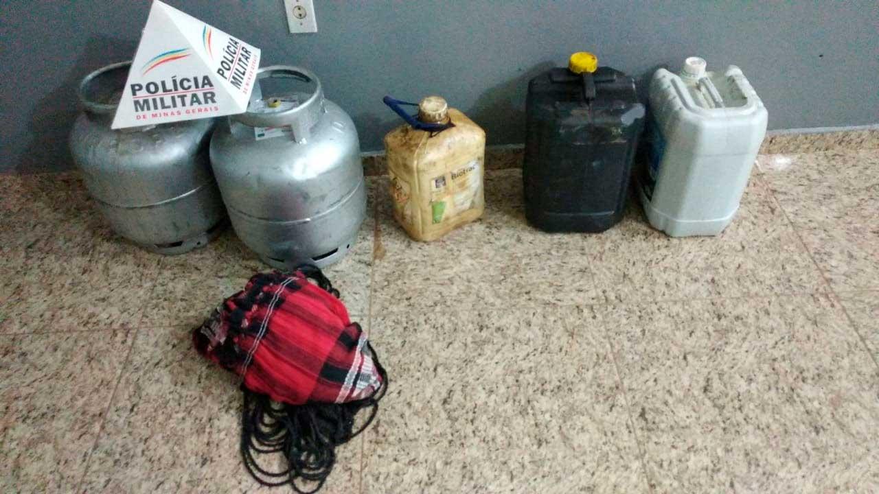 Material furtado por ex-funcionário recuperado pela PM