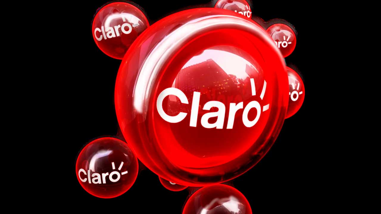 Logo operadora Claro