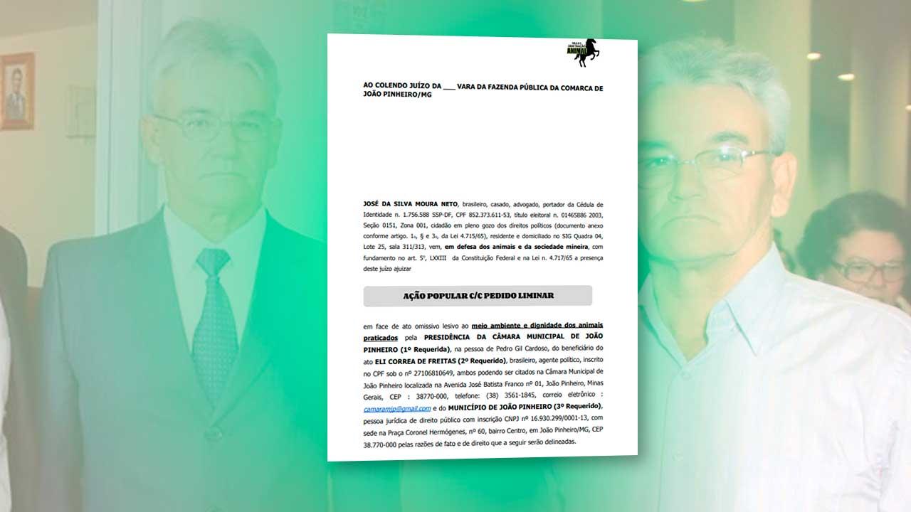 Ação Popular ajuizada contra o vereador Eli Correa de Freitas