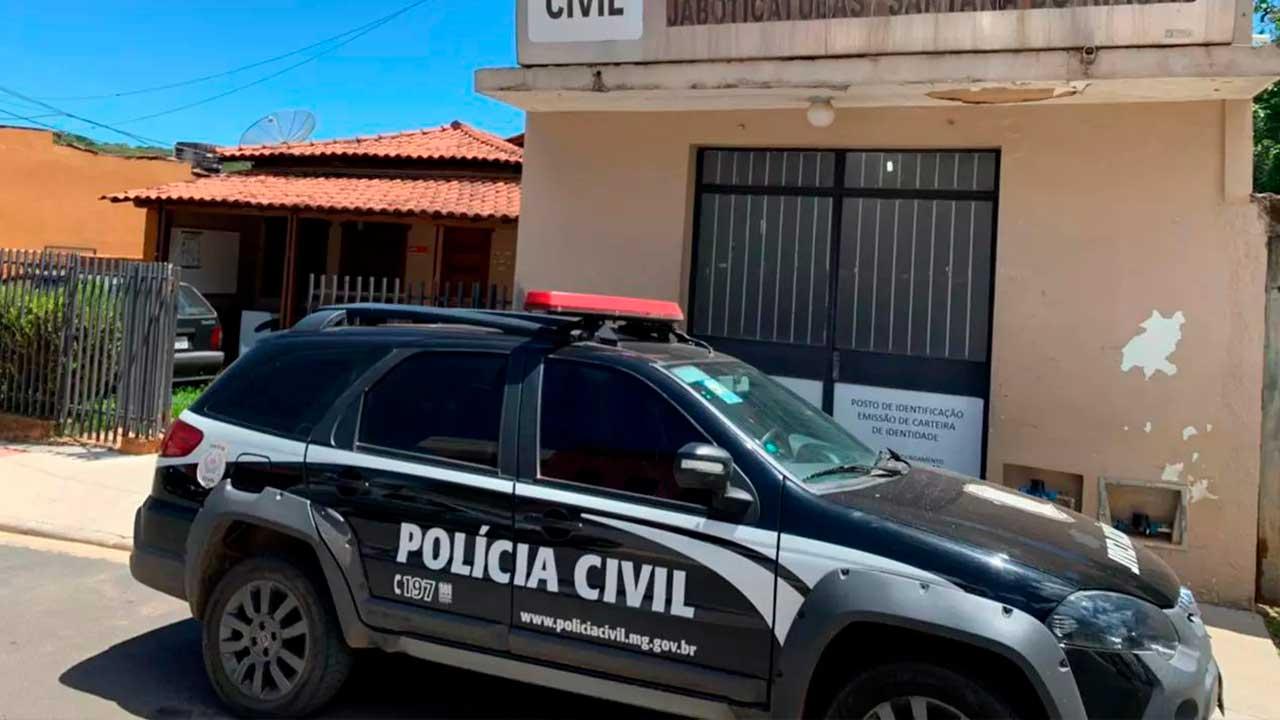 Fachada Polícia Civil de Jaboticabas em Minas Gerais