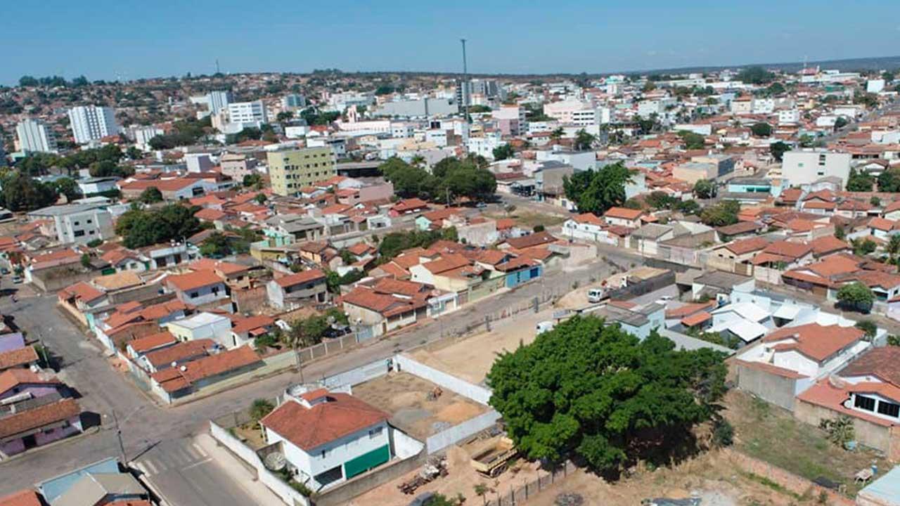 Imagem aérea de João Pinheiro