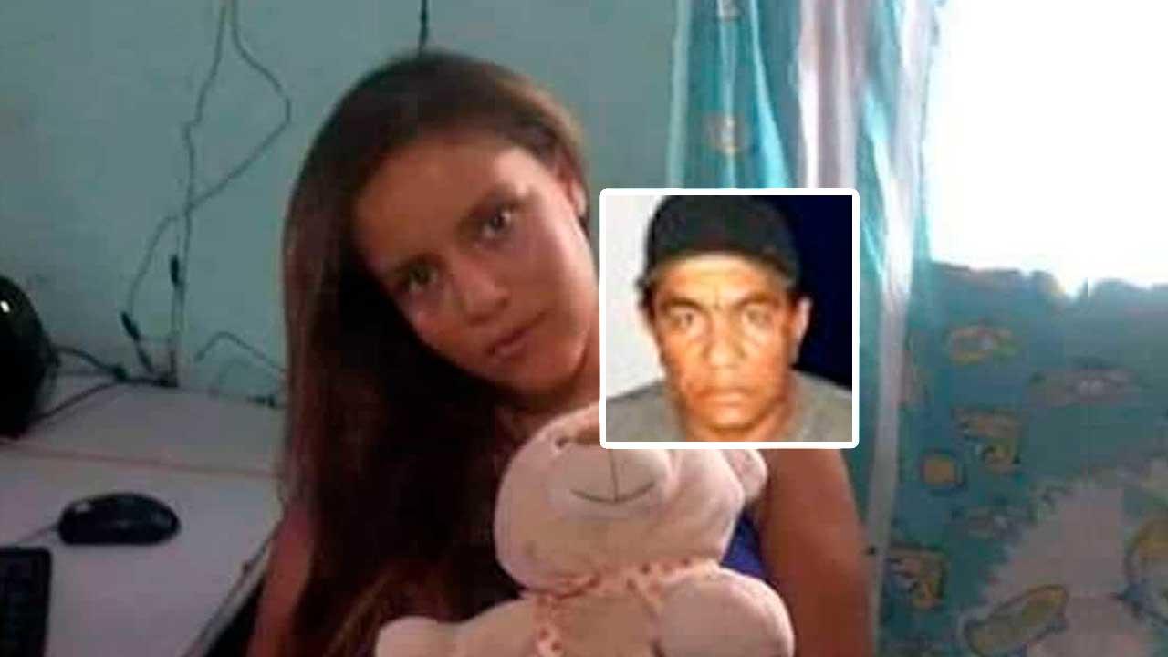 Andreia Ribeiro que na época tinha 17 anos de idade