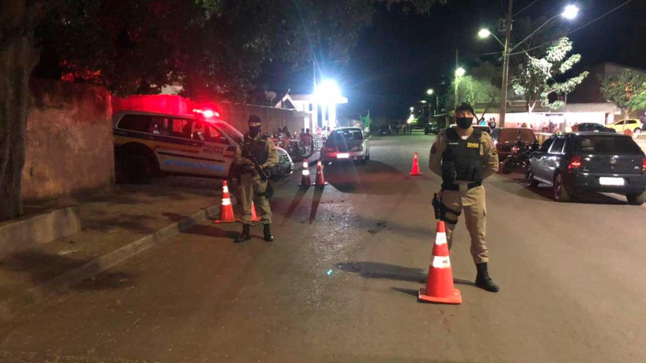 Blitz da Polícia Militar de Minas Gerais