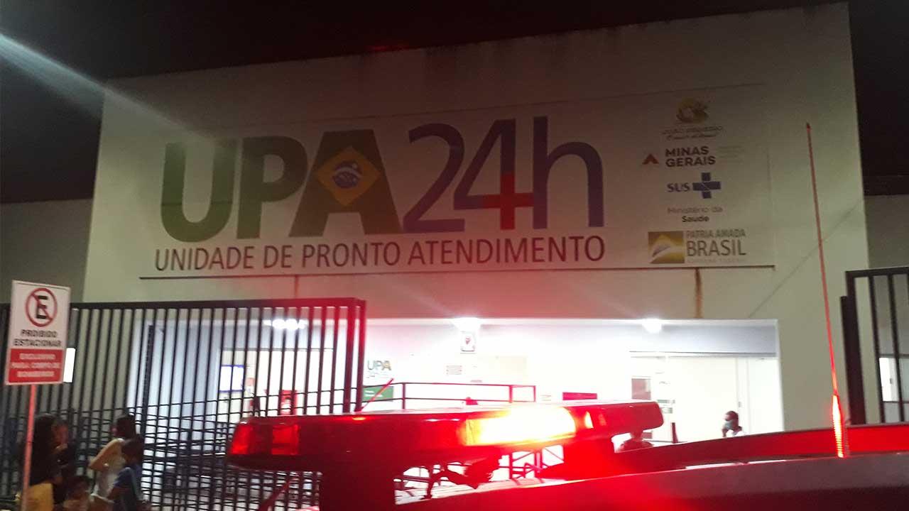 Fachada da Unidade de Pronto Atendimento de João Pinheiro