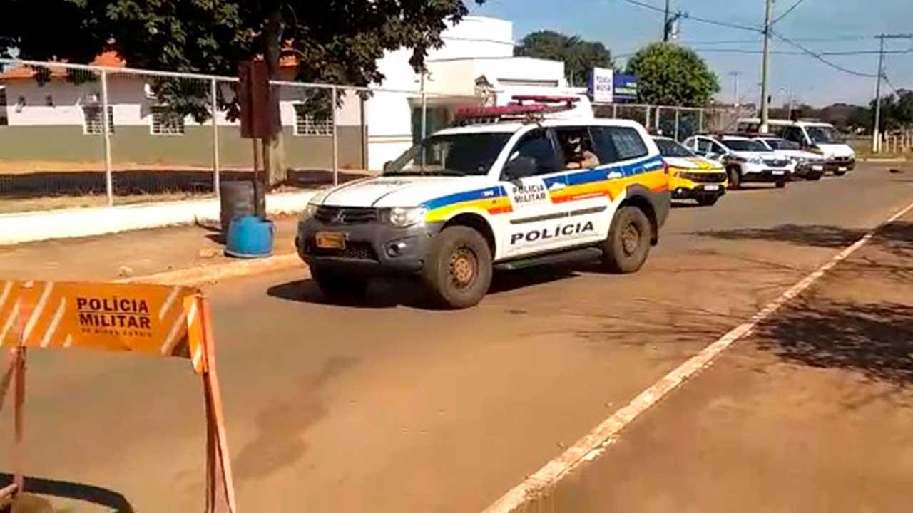 Em Brasilândia de Minas, ladrão invade obra e furta ferramentas de trabalhador durante o fim de semana