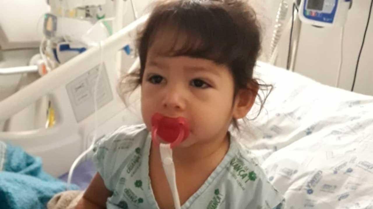 Participe da corrente de oração pela cura de Valentina, pinheirense de 2 anos diagnosticada com leucemia