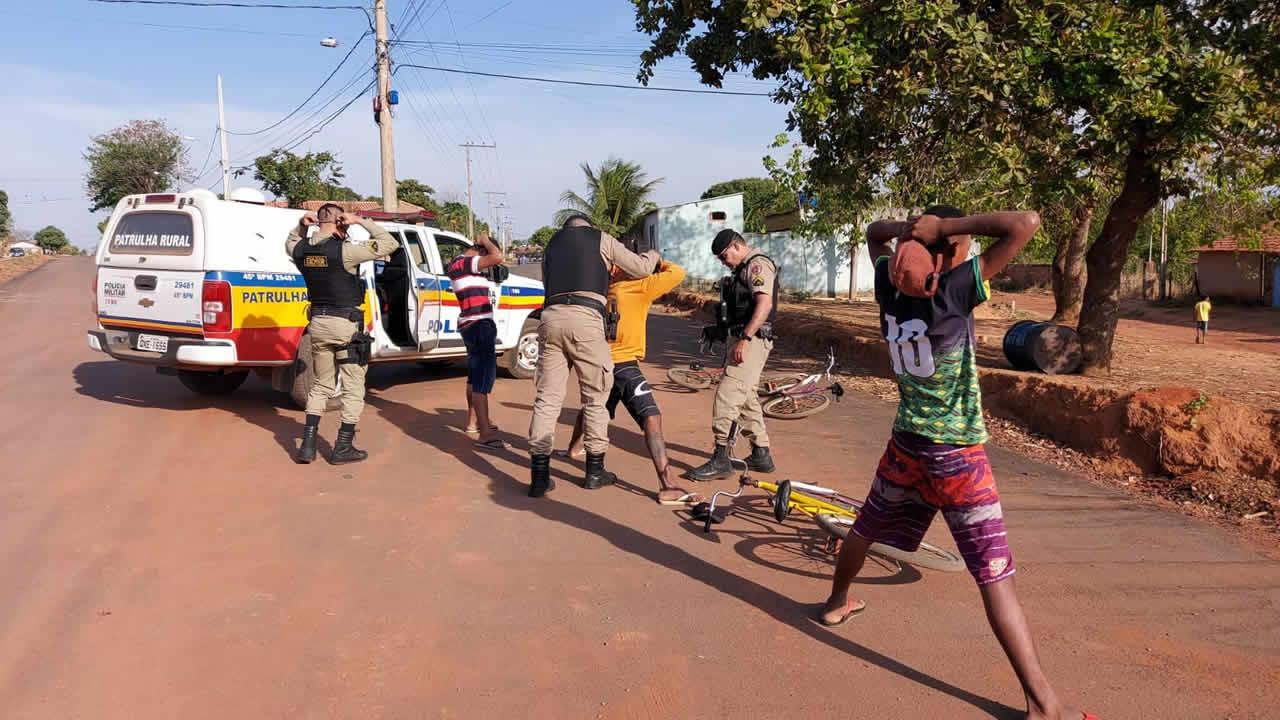 Policiamento em Brasilândia de Minas recebe reforço para conter onda de criminalidade que assola o município