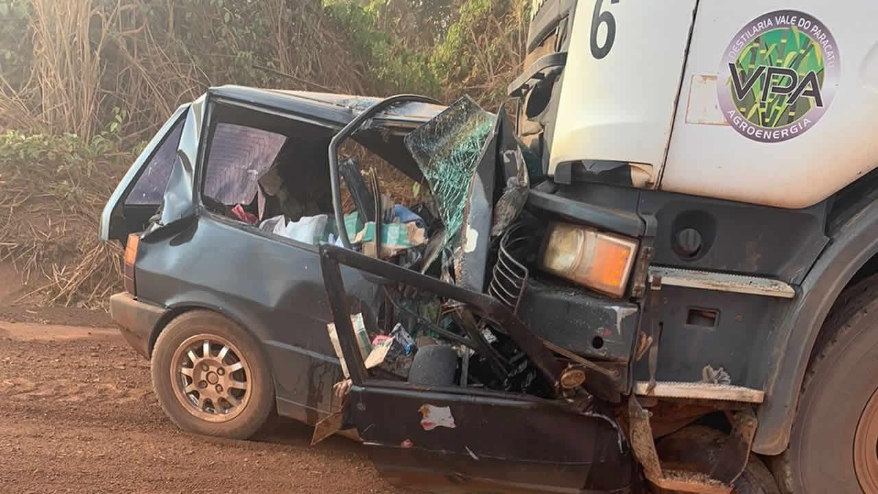 Grave acidente deixa ao menos três mortos na LMG-690, região do Entre Ribeiros em Paracatu