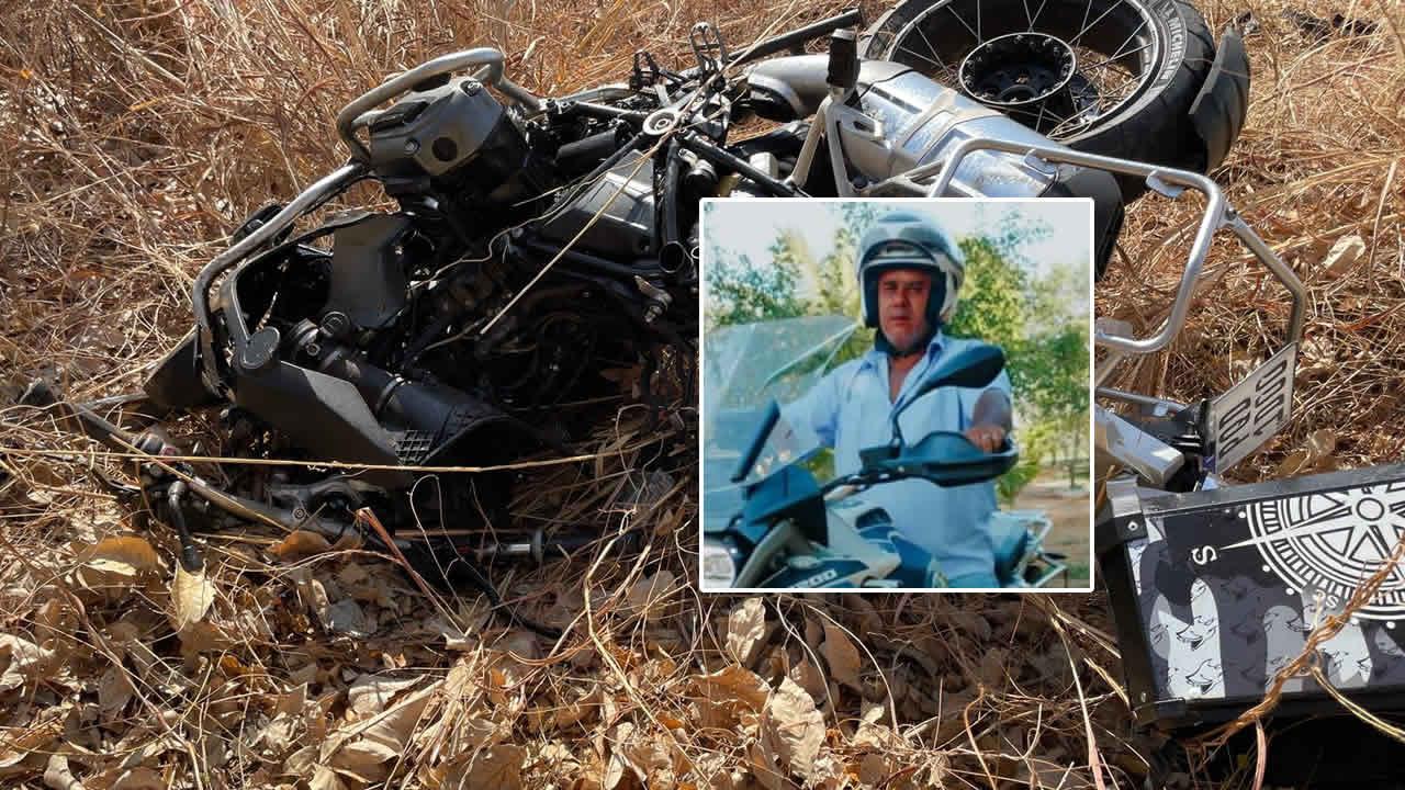 Acidente com motocicleta na Bahia tira a vida de Willian Ribeiro, funcionário aposentado da COPASA de João Pinheiro