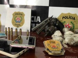 Operação contra o tráfico termina com seis pessoas presas e armas de fogo apreendidas, em Buritis
